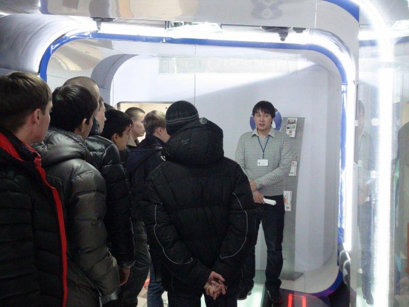 Фото к Поезд инноваций посетил г. Красноярск