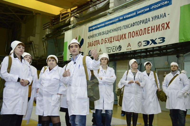 Фото к Электрохимический завод: вторая локация проекта «День учителя на объектах атомной отрасли»